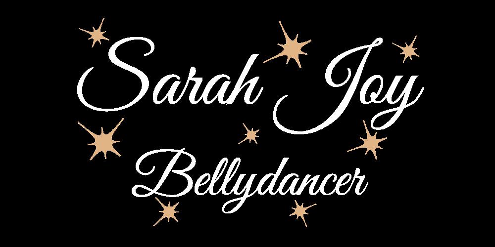 Sarah Joy White Logo Bigger
